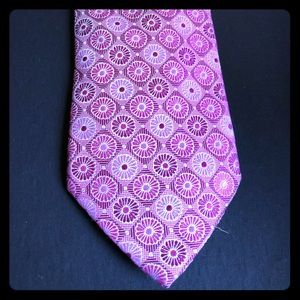 Isaac Mizrahi Red and Pink Tie